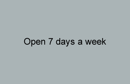 Open 7 days a week - The Carpet Mill