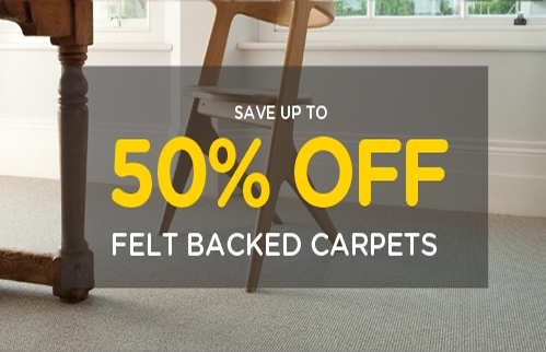 Feltback Carpets Offer - The Carpet Mill