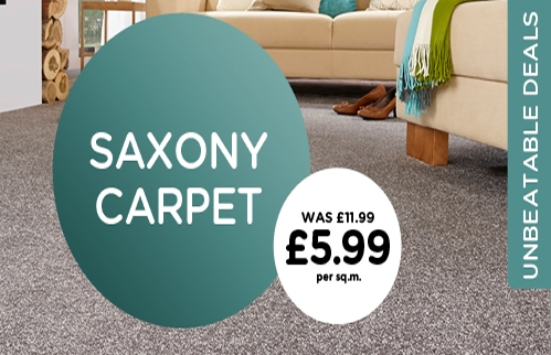 Saxony Carpet Offer - The Carpet Mill
