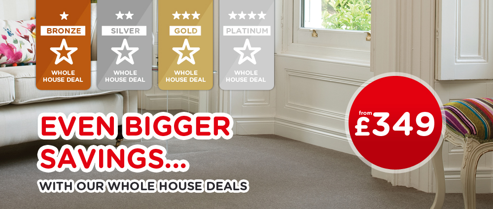 Whole House Flooring in Halifax - The Carpet Mill